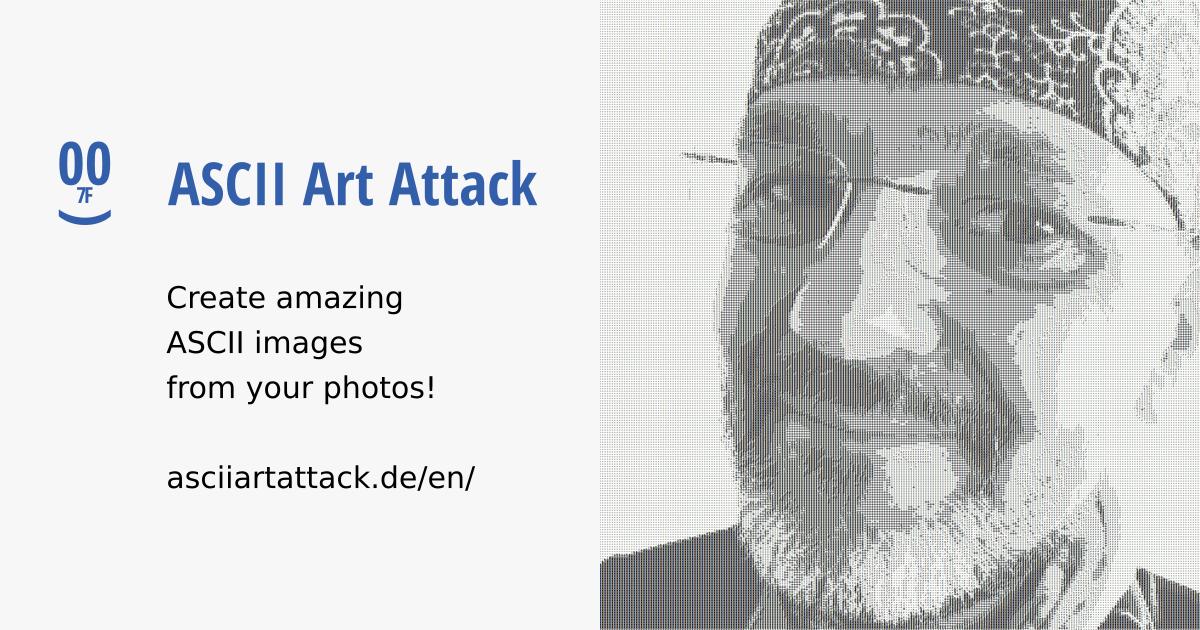 ASCII Image Generator For Beginners | ASCII Art Attack