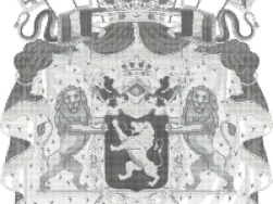 Wappen Belgien als ASCII-Bild